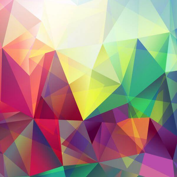 Abstract triungle background vector