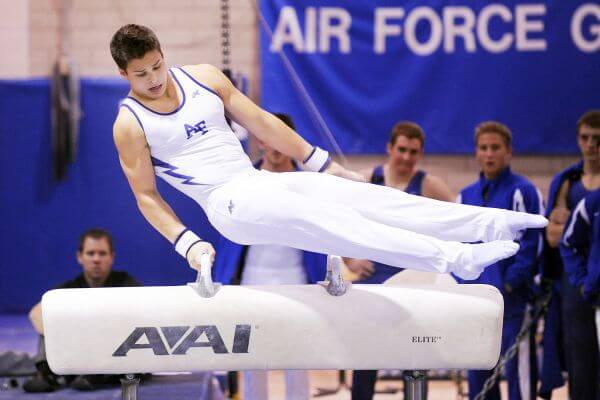 Artistic gymnastics photo