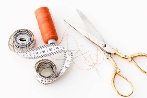 Fabric scissors photo