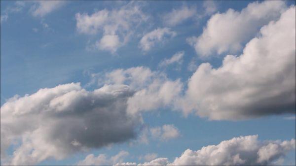 Clouds  wind  nature video