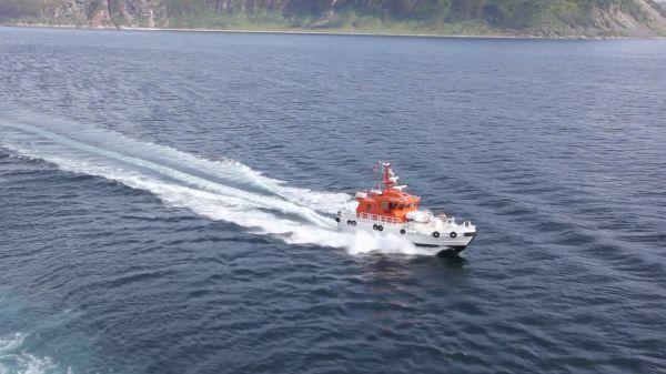 Norway  nordkapp  pilot boat video