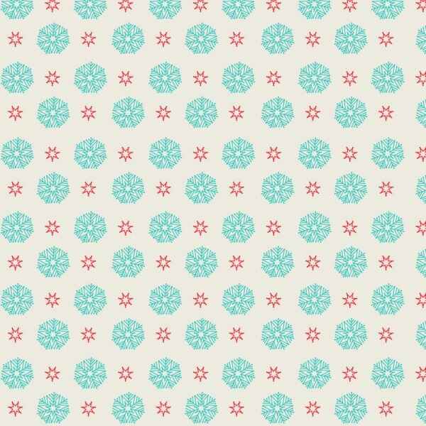 Snow flake pattern vector