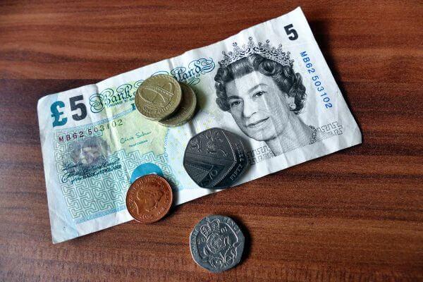 Bank notes photo