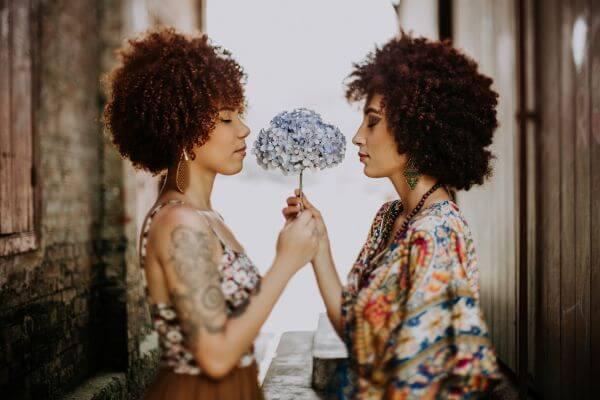 Afro photo