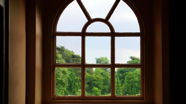 Arched window photo