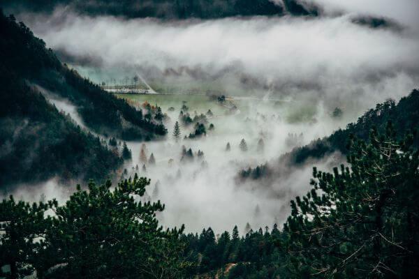 Cloudy photo
