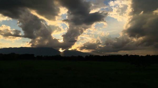Rain  nature  sky video