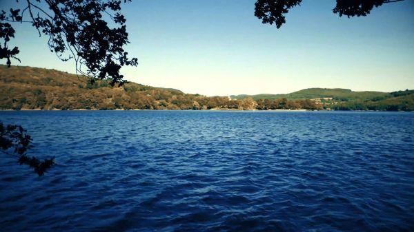 Lake  nature  jura video