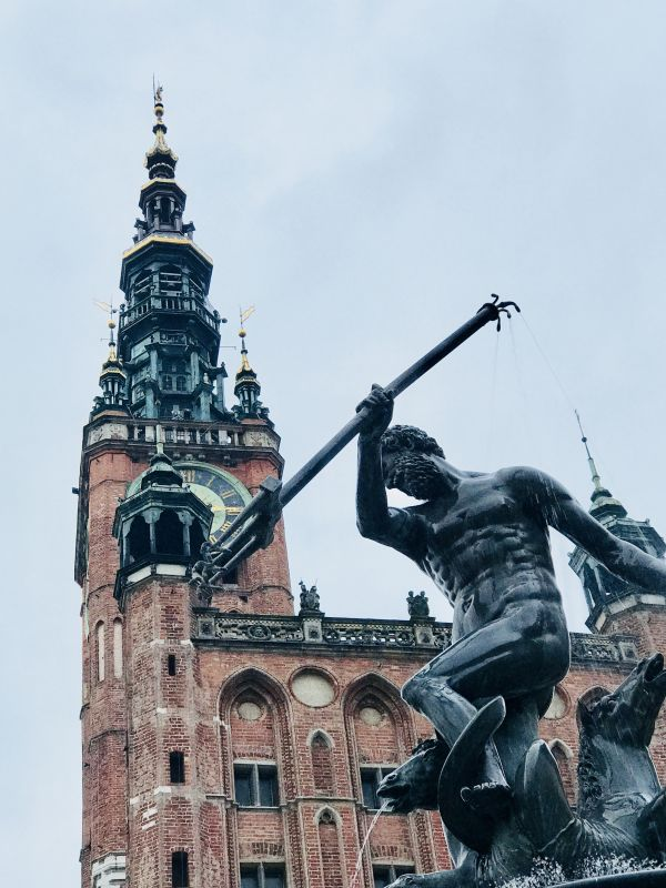 The old town of Gdańsk  photo