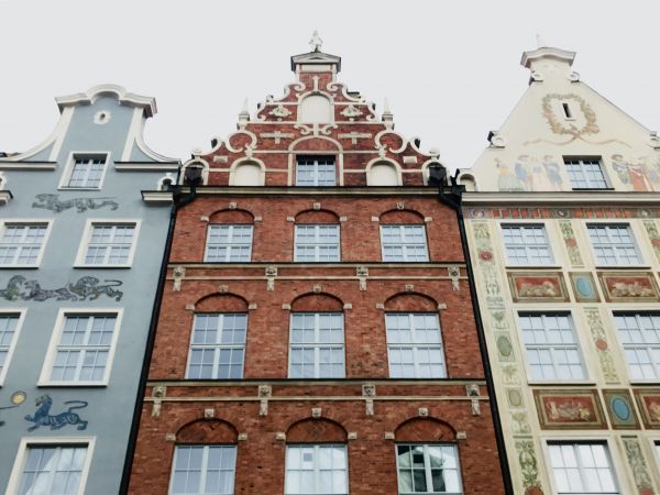 Houses in Gdańsk  photo