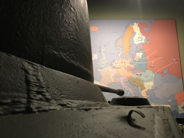 Tank and Europe WWII photo
