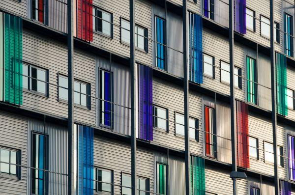 Colorful facade photo