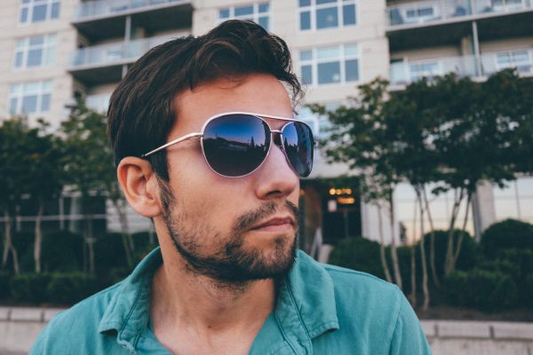 Man Model Sunglasses photo