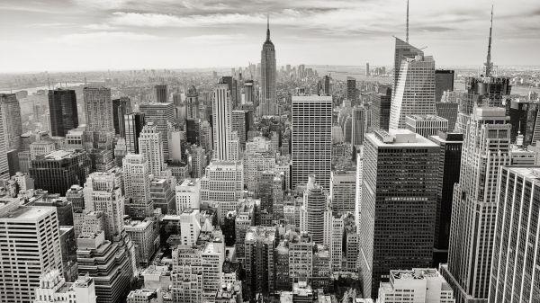 Manhattan Empire State Building Skyscraper photo