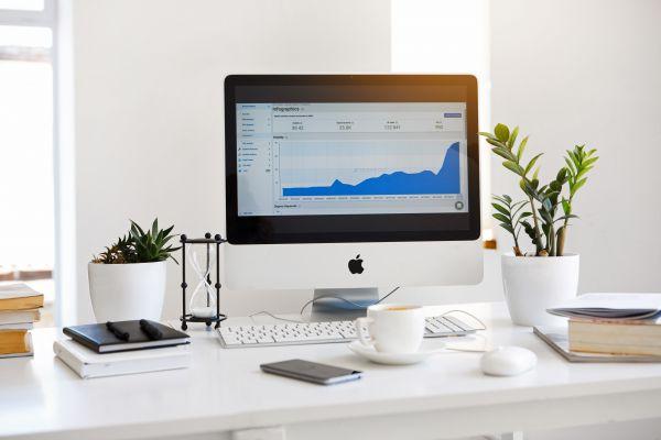 Mac Charts UX Stats Minimal Light photo
