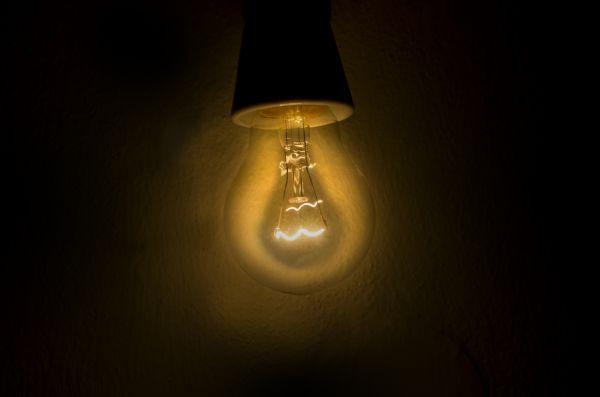 Vintage Lightbulb Light Glow photo
