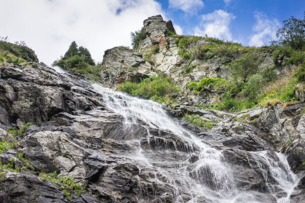Waterfall River Mountains photo