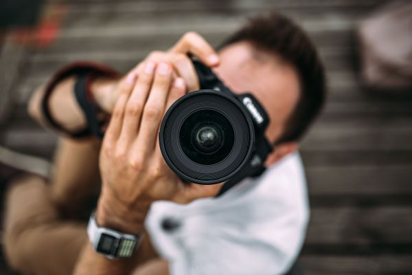Man Photography DSLR Camera photo