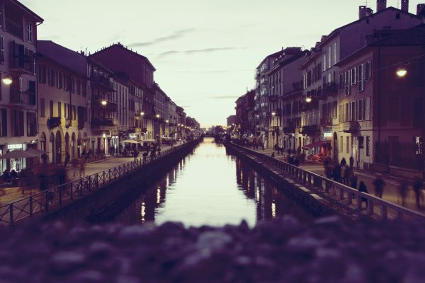 Canal Town Houses Waterfront River photo