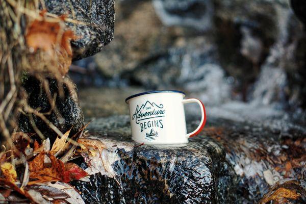 Adventure Begins Mug Cup photo