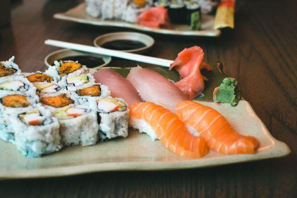 Fresh Sushi Yam California Rolls photo
