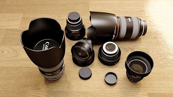 Canon Camera Lens Collection photo