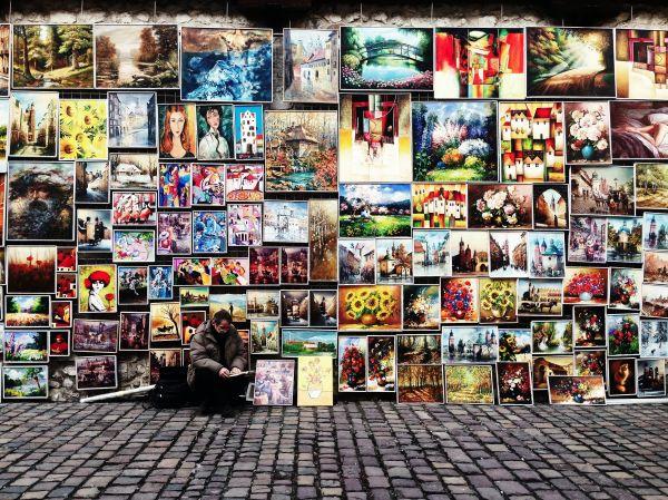 Art Street Seller photo