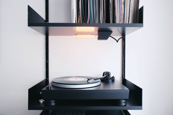 Black Record Player Vinyl photo