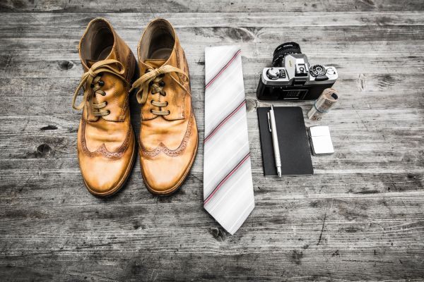 Shoes Tie Camera Money photo