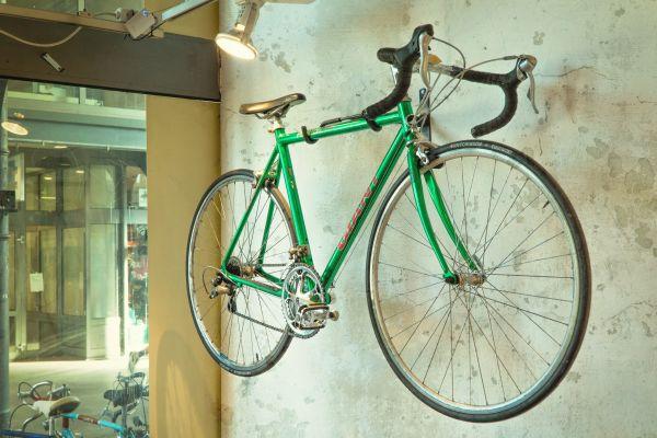 Giant Green Race Bike photo