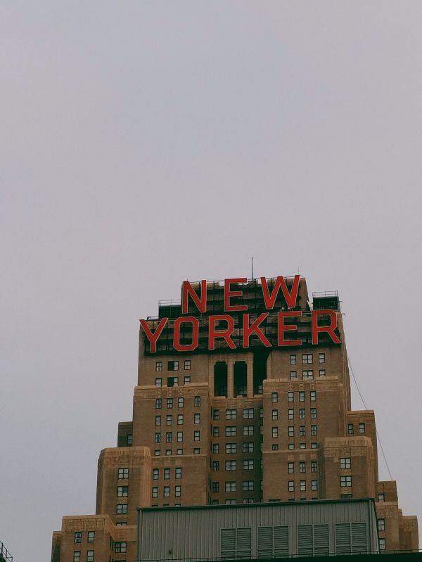 Large New Yorker Sign photo
