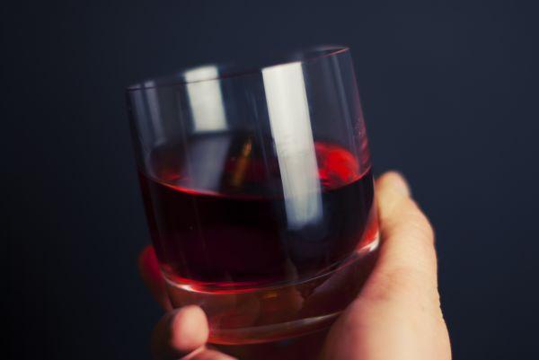 Glass Red Wine Drink Minimal photo
