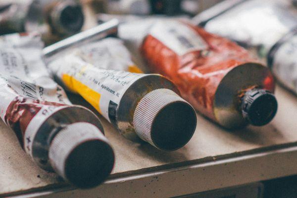 Art Color Paint Tubes photo