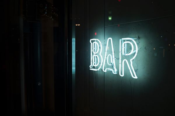 Bar Neon Sign photo