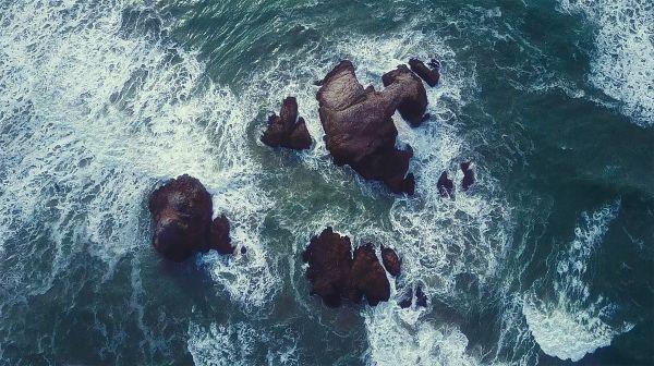 Rocks Sea Summer photo
