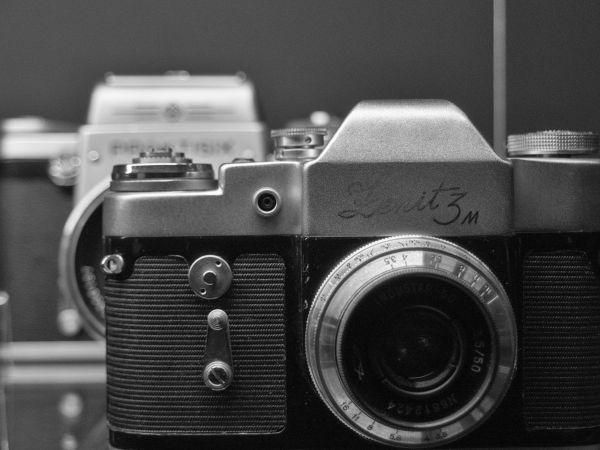 Vintage SLR Camera Zenit photo