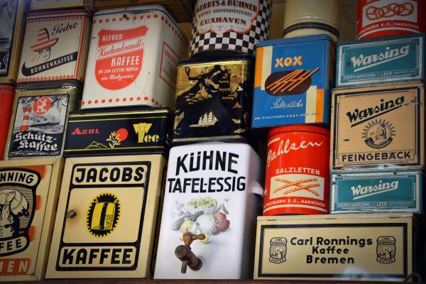 Vintage Coffee Tins photo