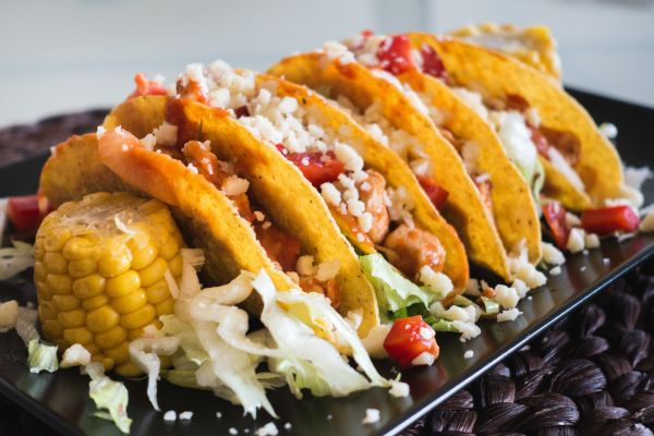 Chicken Tacos Cheese Sweetcorn photo