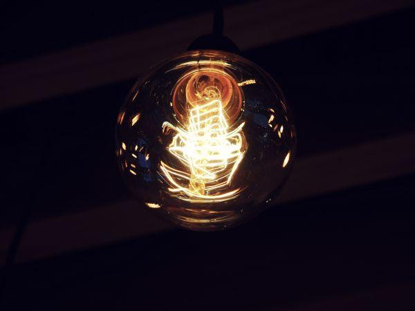 Light Bulb Dark photo