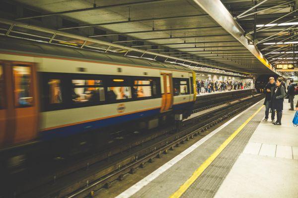 Underground Station Train photo
