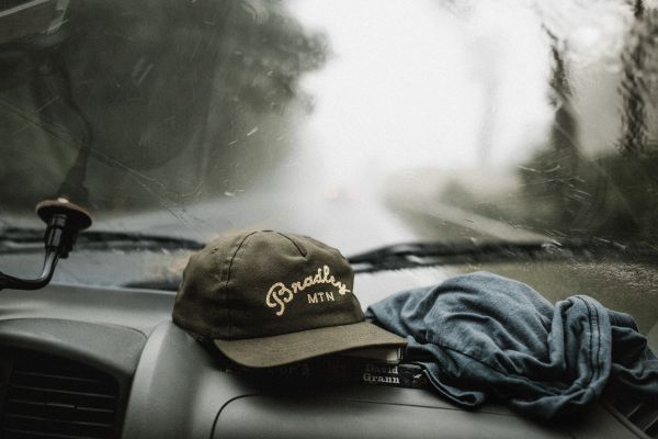 Rain Car Baseball Cap photo