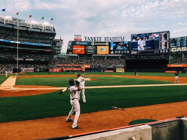 Professional Baseball Yankee Stadium photo