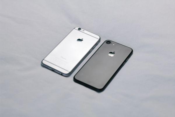 Light Dark iPhone Minimal photo
