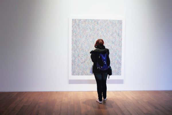 Woman Art Gallery Minimal photo