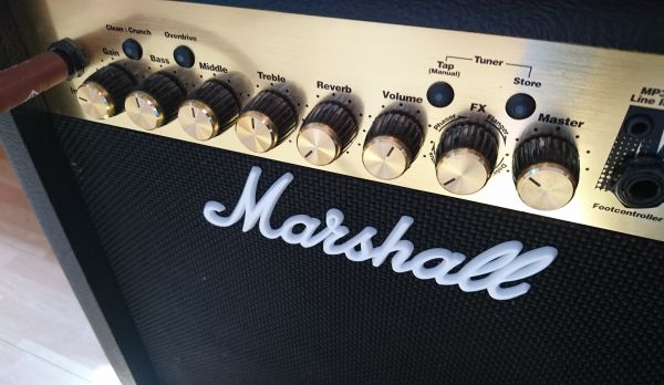 Marshall Guitar Amplifier photo