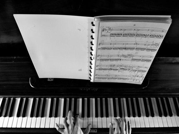 Sheet Music Piano photo