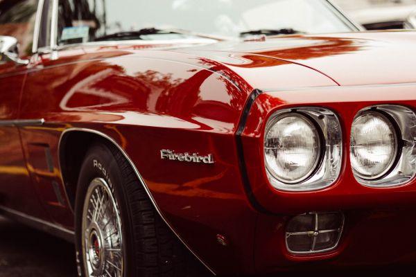 Classic Red Firebird photo