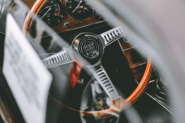 Classic Fiat Steering Wheel photo