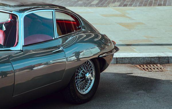Classic Black Jaguar Car photo
