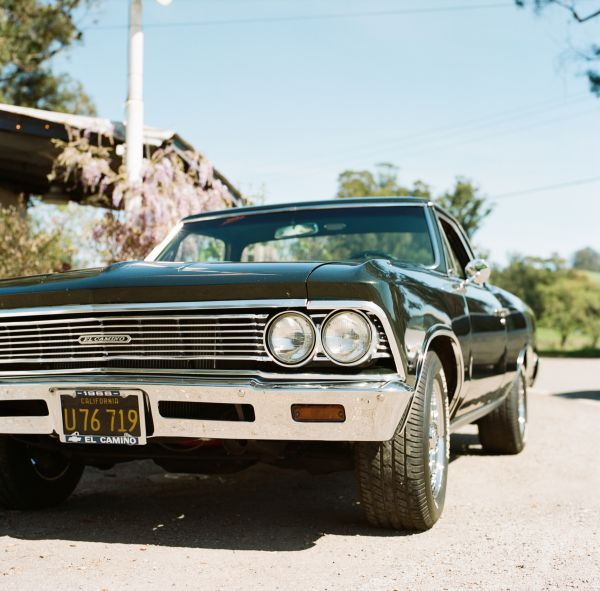 Classic Black El Camino Car photo